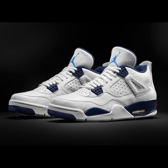 0245518b88e1 Jordan Shoes - Air Jordan 4 Columbia Legend Blue 5.5Y Or 7W